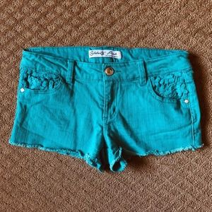 Celebrity Pink Cut Off Jean Shorts - size 7